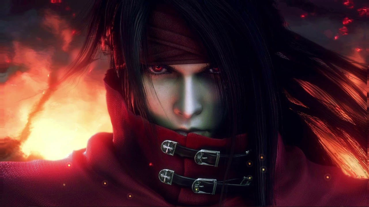 Animated Vincent Valentine Final Fantasy VII