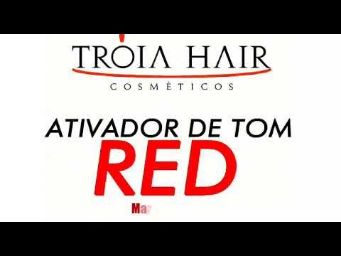 Máscara Tonalizante Red Tróia Hair