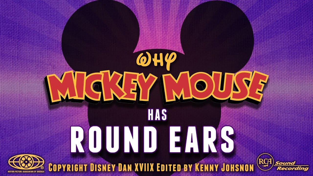 Why Are Mickey Mouse's Ears ALWAYS Round?