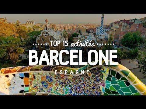 Que faire à BARCELONE 🔎  TOP 15 des activités | Voyage en Espagne
