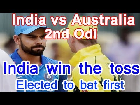 India Vs Australia Second Odi Live Score Updates Kolkata Eden Gardens