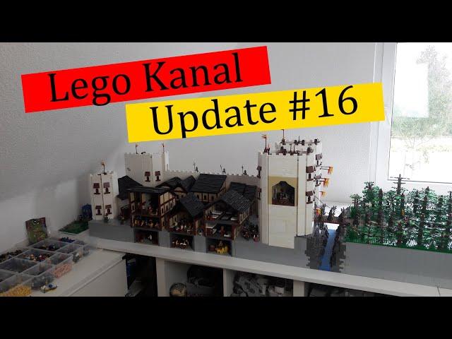 Lego Kanal Update #16 Was war los und wo bleibt das nächste große Moc