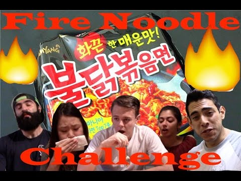 Dental Students Try the Fire Noodle Challenge 불닭볶음면 (with Capsaicin Sauce)