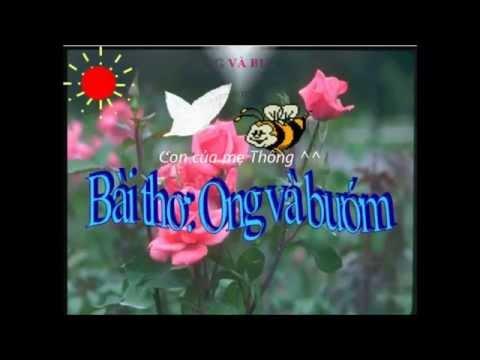 Bài thơ ong và bướm - Con mẹ Thông ^^