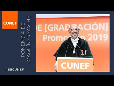 Ponencia De Joaquín Goyache En La Graduación 2019   CUNEF