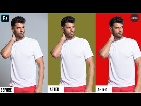 How To Change Background Color In Photoshop 2020(New Trick)