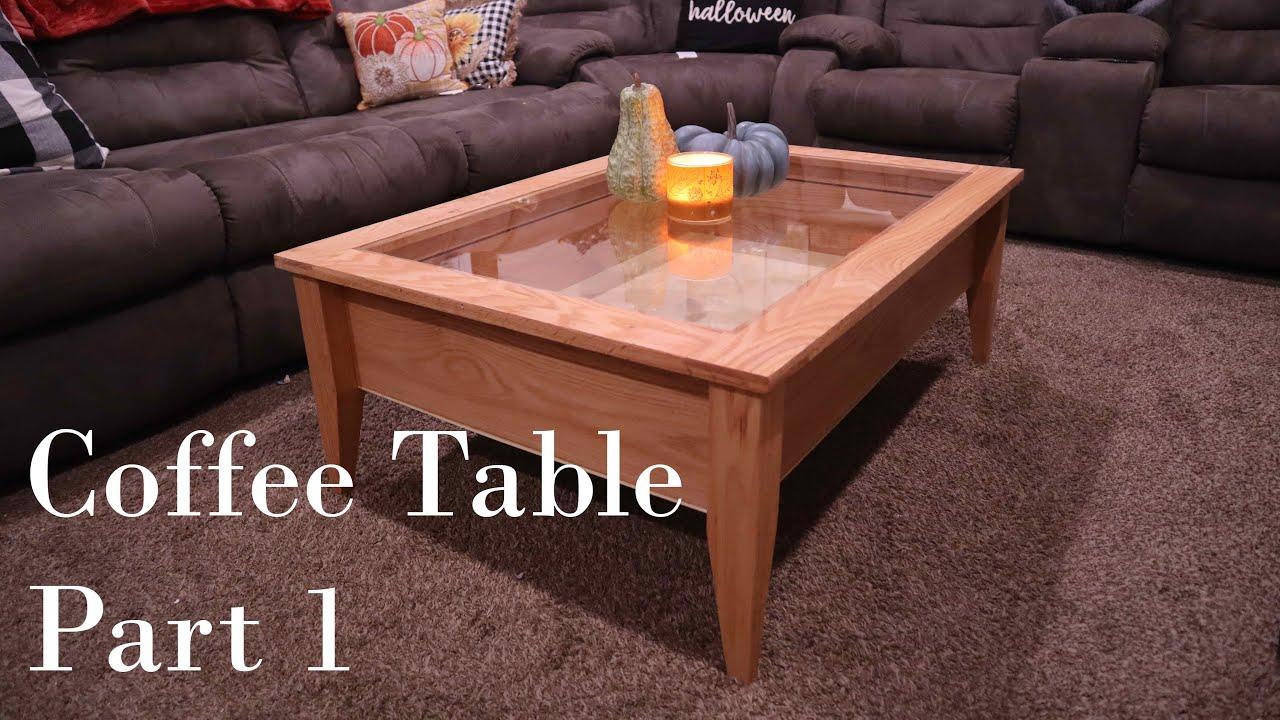 reactive led coffee table