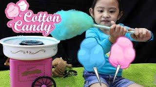 Cotton Candy Mini Machine   || DIY COTTON CANDY || Asiknya Membuat Arum Manis Sendiri