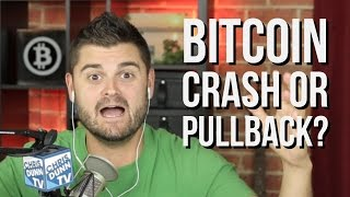 Bitcoin Price Crash Or Normal Pullback?