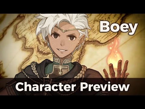 Fire Emblem Echoes Character Preview: Boey