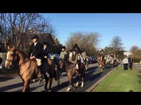 Cotswold Broadway Boxing Day Hunt Christmas 2016