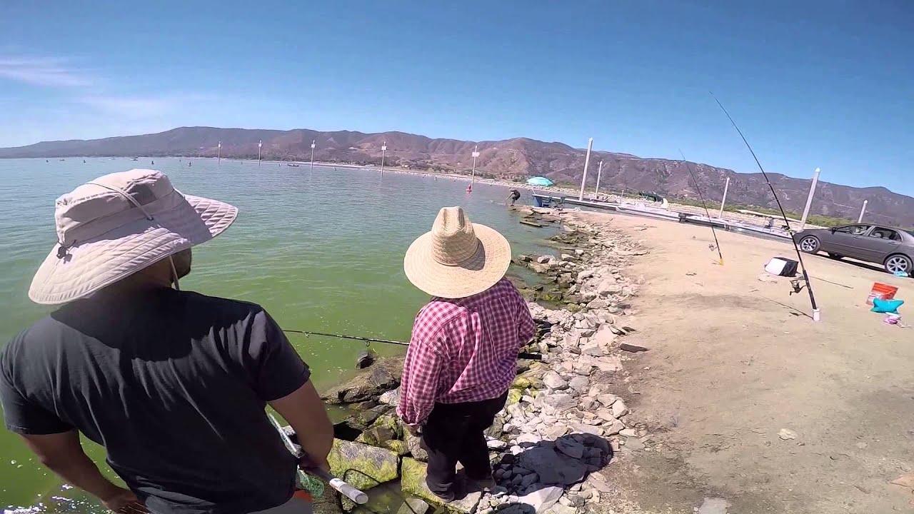 Lake elsinore fishing 07 03 2015 youtube for Lake elsinore fishing report