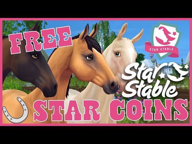 New Star Coin Code for Star Stable Online