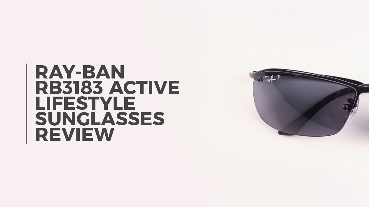 5f72f7d2f8 Ray Ban RB3183 Active Lifestyle Polarized Sunglasses Review ...