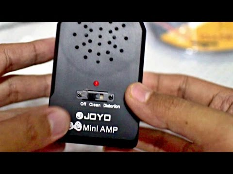 Joyo Portable Guitar Speaker Amplifier | Amp Review and Sound Test