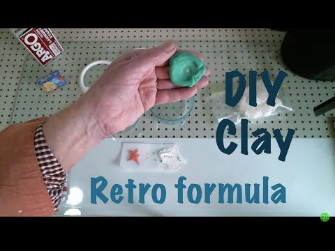 Arts and Crafts: DIY Clay for MOLD and MEDIUM. Kid safe. Professional artist quality.