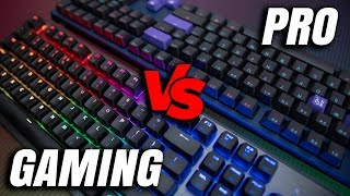 Gaming vs Professional Keyboard - Which Is Right For You?