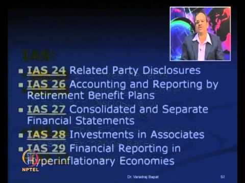 Mod-04 Lec-07 Accounting Concepts, Standards, IFRS
