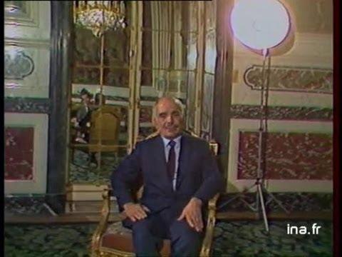 [Interview Hussein I de Jordanie]