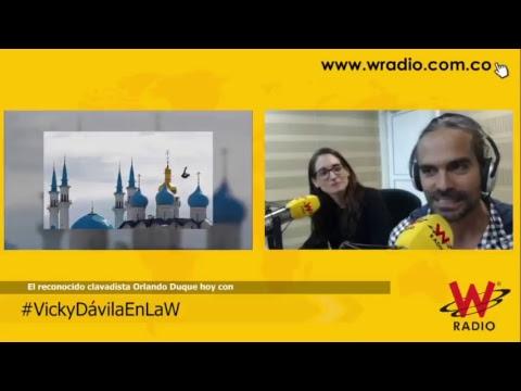 Orlando Duque en entrevista con Vicky Dávila
