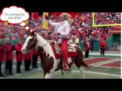 Eric Berry is afraid of horses