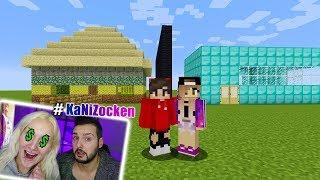 NINAS TEUERSTES Haus vs KAANS BILLIGSTES Haus! Welches ist schöner? Minecraft Build Battle