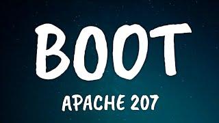 Apache 207 - Boot (Lyrics)