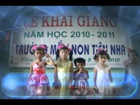 Lễ khai giảng năm học 2010-2011 trường mầm non tiên nha