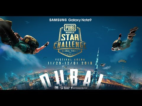 PMSC Global Finals Day 1 [ENGLISH] | Galaxy Note9 PUBG MOBILE STAR CHALLENGE- Global Finals
