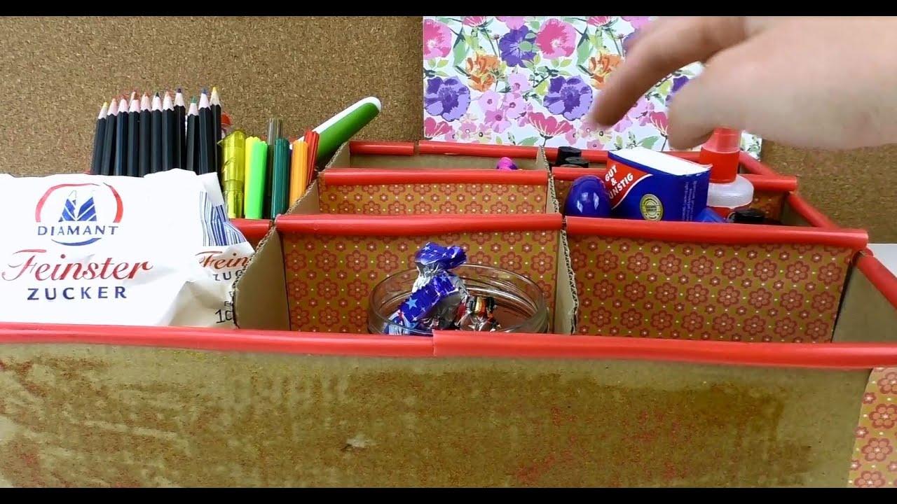 aufbewahrungsboxen selber machen diy aufbewahrungsbox. Black Bedroom Furniture Sets. Home Design Ideas