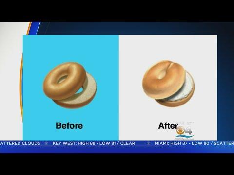 Eric Paulsen - Apple relents, adds cream cheese to bagel emoji