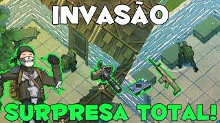 INVASÃO - PENSEI QUE ERA UMA BASE TROLL! E OLHA OQUE EU CONSEGUI!!! - Last Day On Earth