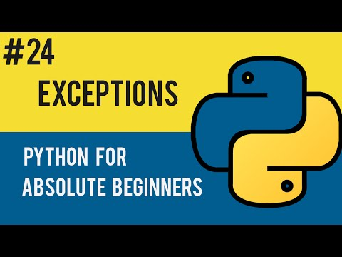 Python Programming Tutorial- 24 Exception Handling in Python