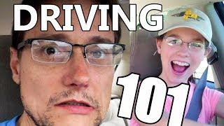 Learning to Drive with Dad | Twins Driving