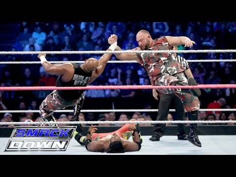 Dean Ambrose & The Dudley Boyz Vs. The New Day SmackDown: SmackDown, Oct. 15, 2015