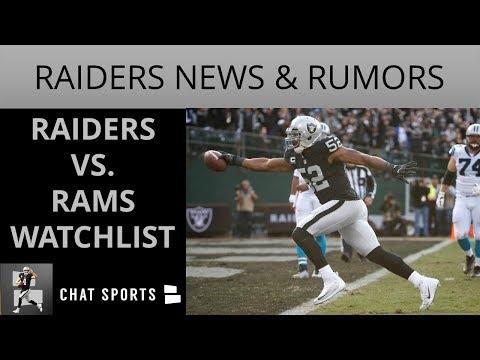 Oakland Raiders Rumors: Khalil Mack New Deal,  Donald Penn News, Preseason Week 2 Vs. Rams