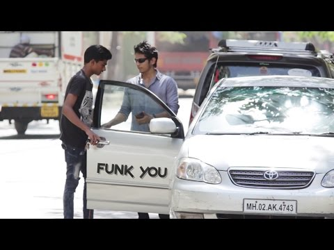 Blind Guy Driving a Car Prank  - Funk You (Pranks in India)