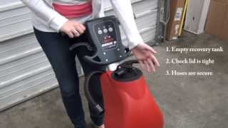 Solving pickup issues on the Betco Genie B auto scrubber