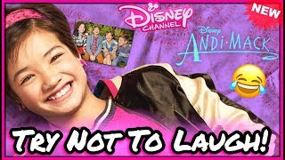 Try Not To Laugh Challenge Disney Andi Mack Stars Funniest Musical.ly Videos 2017