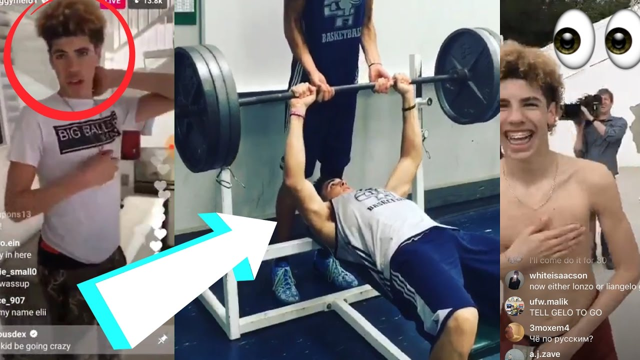 Lamelo Ball FUNNY BENCH PRESS Workout:: Ball Brothers Funny Moments 2017!