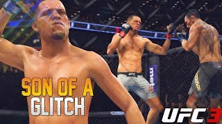 WOW! This Glitch Has To Be FIXED! Nate Diaz Fixing My Record! EA Sports UFC 3 Online Gameplay