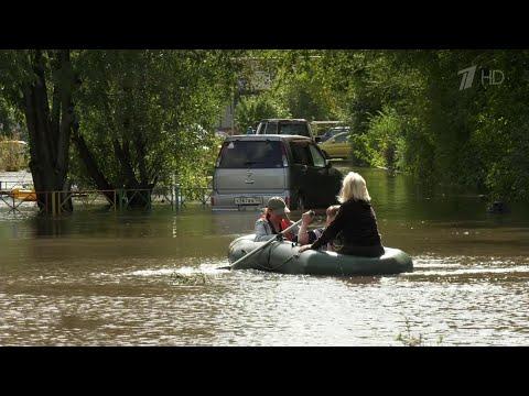 В Комсомольске-на-Амуре за сутки река поднялась еще на 12 сантиметров, и уровень продолжает расти.