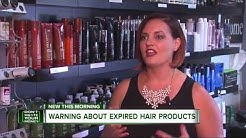 Warning about expired hair products