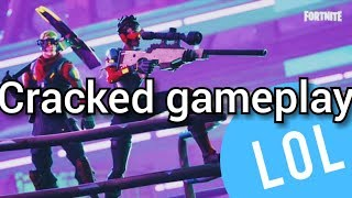 7 mins and 29 secs of cracked Fortnite game play!!!