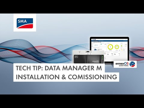 Data Manager M Installation & Commissioning Tech Tip