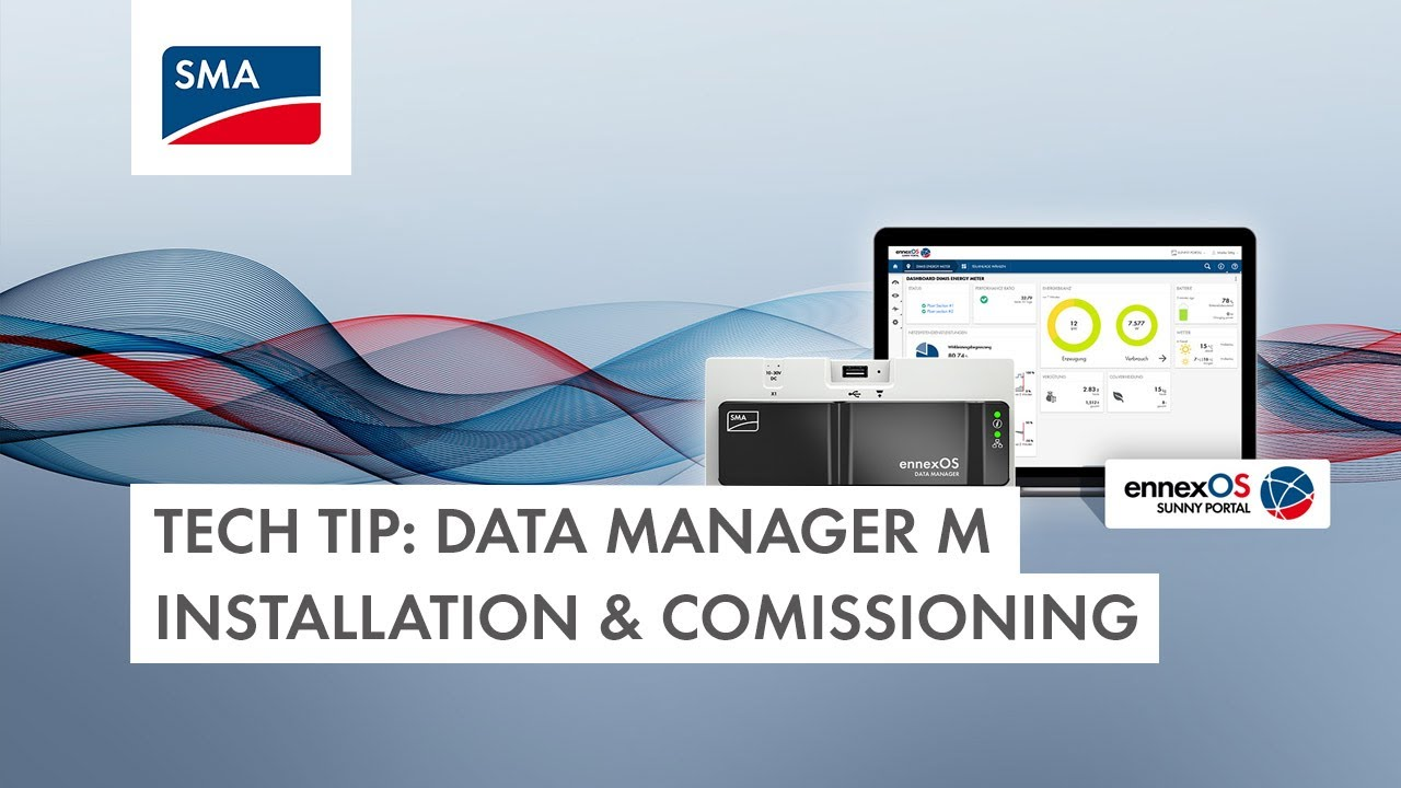 Download Data Manager M Installation & Commissioning Tech Tip