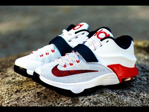 los angeles ea9a0 6b4fd Nike Kd 7 USA review and on feet