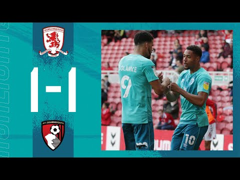 Solanke bags first of the season 👊| Middlesbrough 1-1 AFC Bournemouth