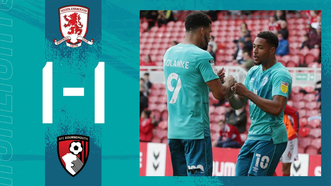 Solanke bags first of the season 👊  Middlesbrough 1-1 AFC Bournemouth