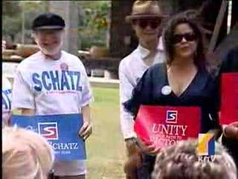 Brian Schatz announces for Democratic Chair Apr 13, 2008